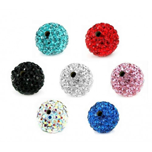 Shamballa Threaded Balls
