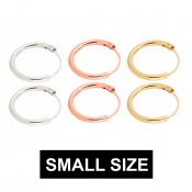 Small Hoops 6mm to 20mm (3)