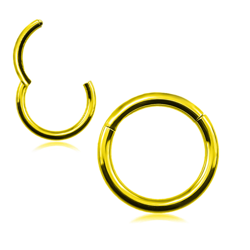 Hing Segment Ring Gold ‐ Quality tested by Sheffield Assay Office England