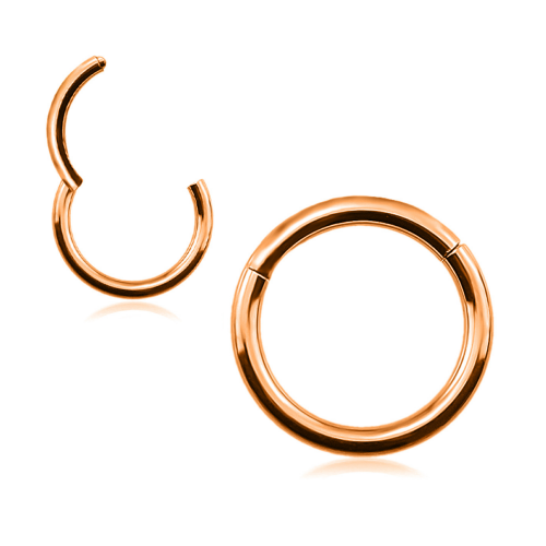 Hing Segment Ring Rose Gold