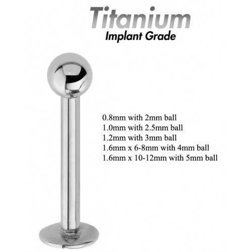 Titanium Implant Grade LABRET